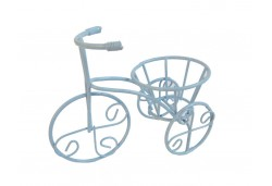 Bisiklet Tel Minik Sepetli Mavi