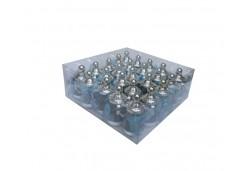 Biberon Gümüşe Mavi Süslü Plastik 1 Adet
