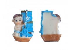 Bebek Biblosu Teknede Mavi