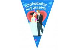 Flama Düğünümüze Hoşgeldiniz 10 Lu