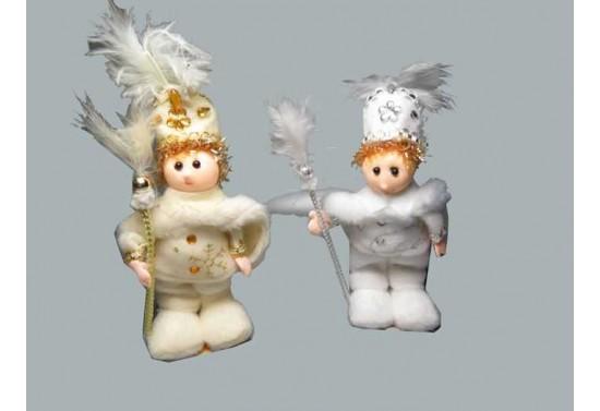 Bebek Sünnet Pelerinli Beyaz