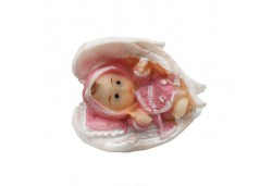 Bebek Kanatlı Pembe Renkli