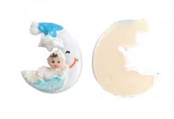 Bebek Ay Dede Mavi 1 Adet