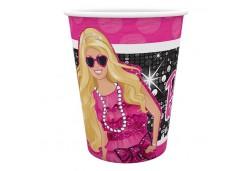 Bardak Barbie Klasik 180/200 cc 8'li
