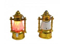 Fener Işıklı Anahtarlık Altın