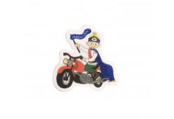 Sticker Sünnet Çocuğu Motorlu Küçük 50'li