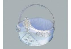 Sünnet Sepeti Süslü Gümüş