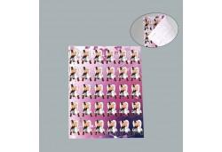 Sticker Gelin Damat Yapışkanlı 300'lü