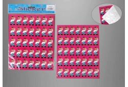 Gelin Damat Sticker Yapışkanlı 300'lü