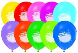 Balon Kişiselleştirilebilir Happy Birthday 100'lü